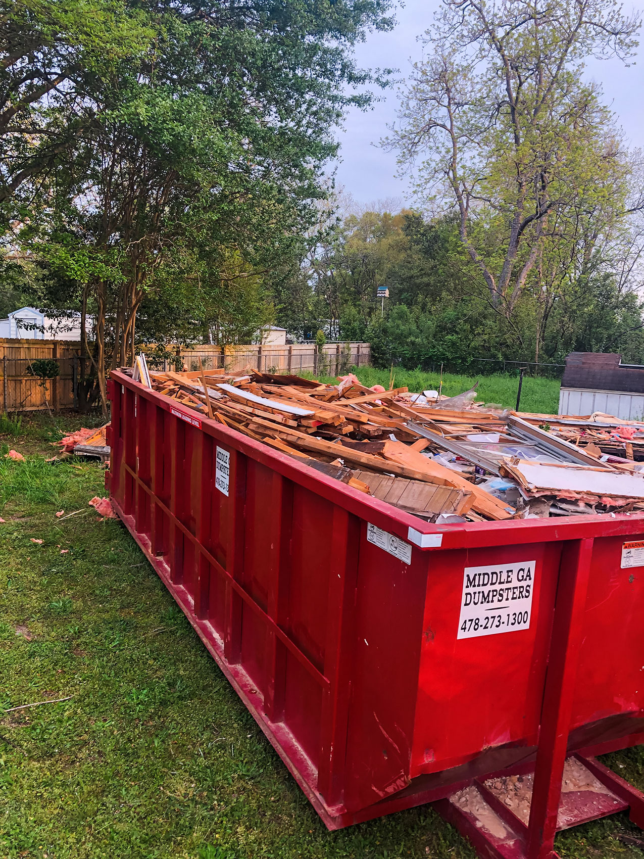 Georgia Dumpster Rental